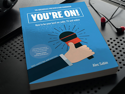 You're On! Alec Sabin Book, Published 2016